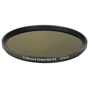 Aurora-Aperture PowerND ND64 67mm Neutral Density 1.8 Filter