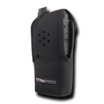 Titan Radio TRNC3 Vertical Nylon Case with Belt Clip for TR200