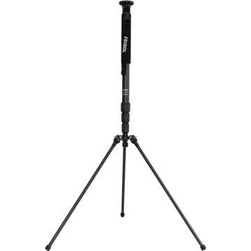 FEISOL CM-1443 Rapid Carbon Fiber Monopod with Three-Leg Base