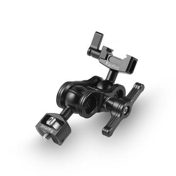 SmallRig 2071 Articulating Arm with Screw Ballhead and NATO Clamp Ballhead