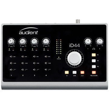 Audient iD44 - 20-Input/24-Output High-Performance AD/DA Interface & Monitoring System