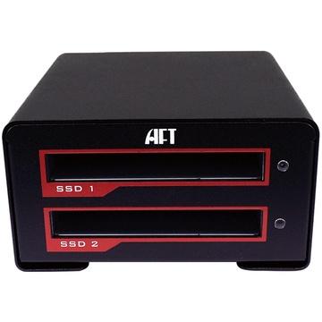 Atech Flash Technology Blackjet VX-2SSD USB 3.1 Type-C RAID Enclosure