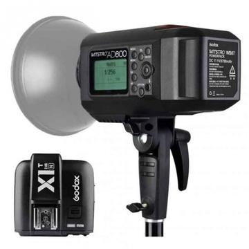 Godox AD600 Manual Flash (Bowen) with X1T Transmitter Kit For Nikon Cameras