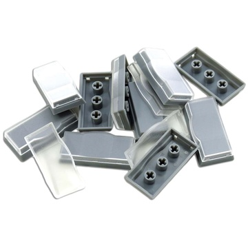 X-keys XK-A-501-R Wide Keycaps (Gray, Pack of 10)