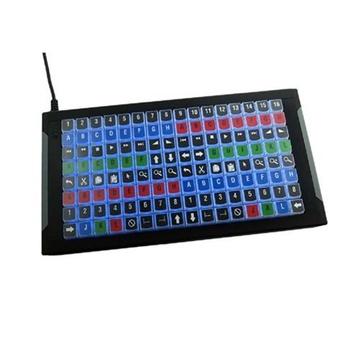X-Keys XKE-128 Programmable KVM Keyboard