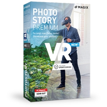 MAGIX Photostory Premium VR (Download)