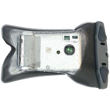 "Aquapac Mini Compact Camera Case (7.9"" Circumference, Cool Gray)"