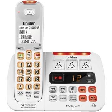 Uniden XDECT SSE45 Cordless Phone (White)