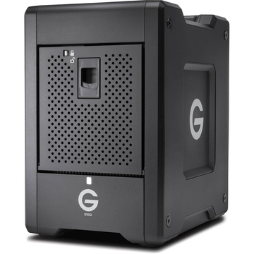G-Technology 16TB G-SPEED Shuttle 8-Bay Thunderbolt 3 SSD RAID Array (8 x 2TB)