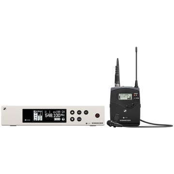 Sennheiser EW 100 G4-ME 2-II Wireless Bodypack System with ME 2-II Lavalier Microphone (A Band)