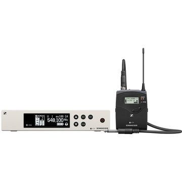 Sennheiser EW 100 G4 Wireless Instrument System with Ci 1 Guitar Cable (A Band)