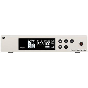 Sennheiser EM 100 G4 Wireless UHF True Diversity Rackmount Receiver (B Band)