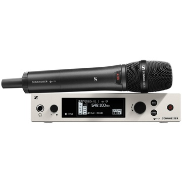 Sennheiser EW 300 G4-865-S Wireless Handheld Vocal Set with 865 Microphone Capsule (BW Band)