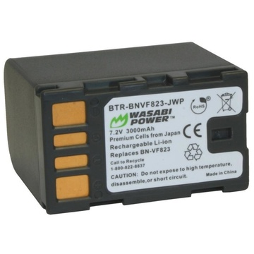 Wasabi Power Battery for JVC BN-VF823