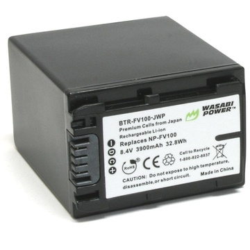 Wasabi Power Battery for Sony NP-FV100