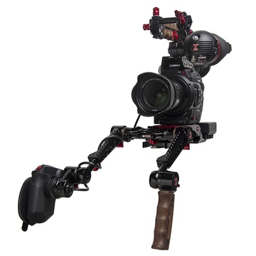 Zacuto C300 Mark II EVF Recoil Pro Gratical Eye Bundle with Dual Trigger  Grips