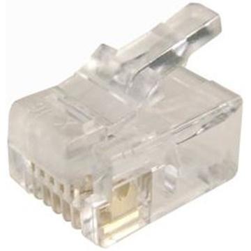 DYNAMIX RJ-12 6P6C Modular Plug (20 Pack)