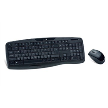 Genius KB-8000x Wireless Keyboard and Mouse Bundle