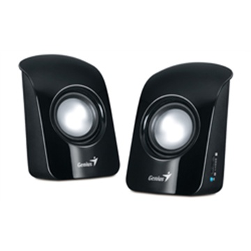 Genius SP-U115 USB Powered Mini Speakers (Black)
