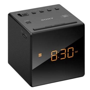 Sony ICFC1 Single Alarm Clock Radio (Black)