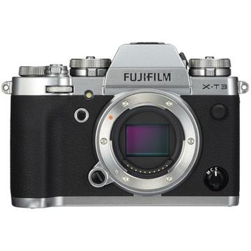 Fujifilm X-T3 Mirrorless Digital Camera (Body Only, Silver)