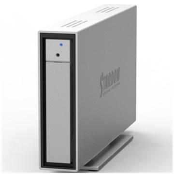 Stardom 1 Bay Direct Attach 6G Storage (Black)