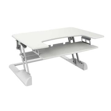 BRATECK Sit-Stand Desktop (White)