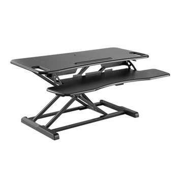 BRATECK Gas Spring Sit-Stand (Black)