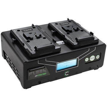 Core SWX Fleet Micro 2 Positional V-Mount Fast Charger