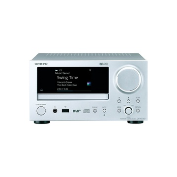 ONKYO CRN775D Network CD Receiver (Silver)