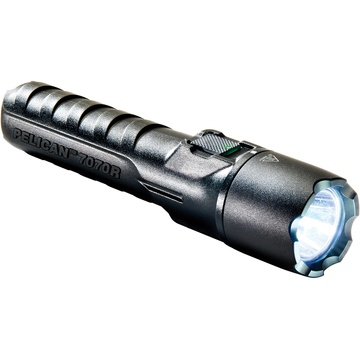 Pelican 7070R LED Tactical Rechargeable Flashlight (Black)