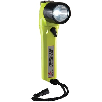 Pelican 3610 Little Ed Right Angle LED Flashlight (Yellow)
