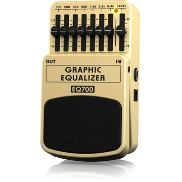 Behringer Graphic Equalizer Effects Pedal