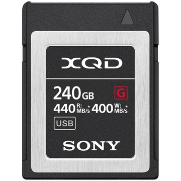 Sony 240GB XQD G Series Memory Card