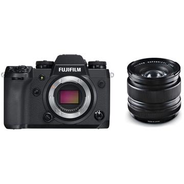 Fujifilm X-H1 Mirrorless Digital Camera with XF 14mm f/2.8 R Ultra Wide-Angle Lens