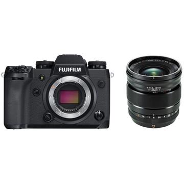 Fujifilm X-H1 Mirrorless Digital Camera with XF 16mm f/1.4 R WR Lens