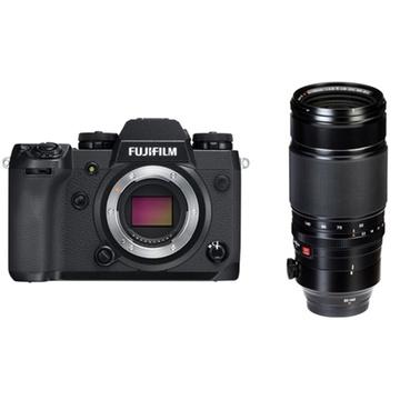 Fujifilm X-H1 Mirrorless Digital Camera with XF 50-140mm f/2.8 R LM OIS WR Lens