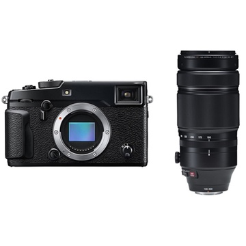 Fujifilm X-Pro2 Mirrorless Digital Camera with XF 100-400mm f/4.5-5.6 R LM OIS WR Lens