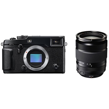 Fujifilm X-Pro2 Mirrorless Digital Camera with XF 18-135mm f/3.5-5.6 R LM OIS WR Lens