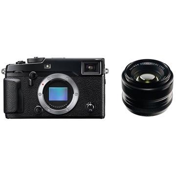 Fujifilm X-Pro2 Mirrorless Digital Camera with XF 35mm f/1.4 R Lens