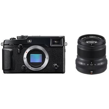 Fujifilm X-Pro2 Mirrorless Digital Camera with XF 50mm f/2 R WR Lens (Black)