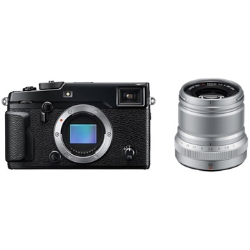 Fujifilm X-Pro2 Mirrorless Digital Camera with XF 50mm f/2 R WR Lens (Silver)