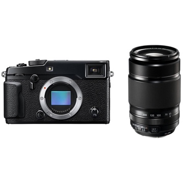 Fujifilm X-Pro2 Mirrorless Digital Camera with XF 55-200mm f/3.5-4.8 R LM OIS Lens