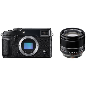 Fujifilm X-Pro2 Mirrorless Digital Camera with XF 56mm f/1.2 R APD Lens