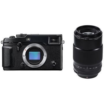 Fujifilm X-Pro2 Mirrorless Digital Camera with XF 80mm f/2.8 R LM OIS WR Macro Lens