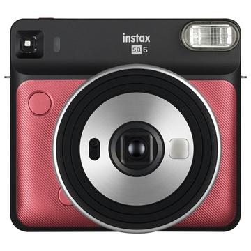 Fujifilm instax SQUARE SQ6 Instant Film Camera (Ruby Red)