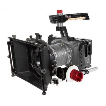 SHAPE Blackmagic Pocket Cinema 4K Camera Cage Kit, Matte Box, Follow Focus