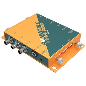 AV Matrix SC2031 HDMI/AV to 3G-SDI Scaling Converter