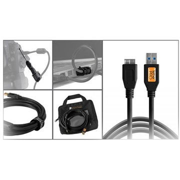 Tether Tools Starter Tethering Kit with USB 3.0 Micro-B Cable (Black)
