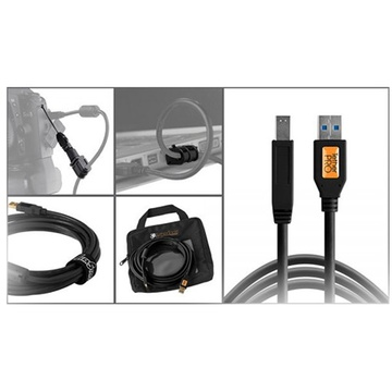 Tether Tools Starter Tethering Kit with USB 3.0 Type-B Cable (Black)